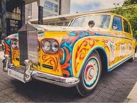 [Celebrity Cars Collection] John Lennon's Unusual And Psychedelic 1965 Rolls-Royce Phantom