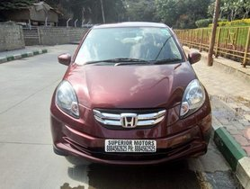 Good as new 2014 Honda Amaze for sale at low price