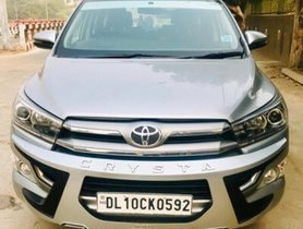 Used Toyota Innova Crysta 2017 car at low price