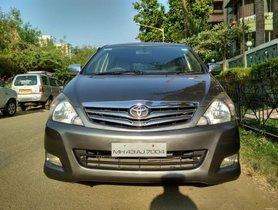Toyota Innova 2.5 V Diesel 7-seater 2011 for sale
