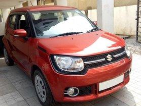 Used Maruti Suzuki Ignis 2017 car at low price