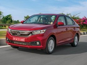 Top 10 The Most Searched Cars On Google India In 2018: Honda Amaze Takes The First Place