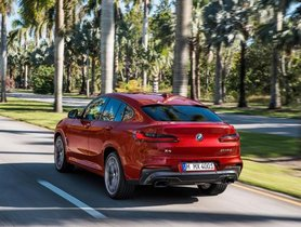 The BMW X4 Spotted Testing In India