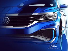 India-spec updated Volkswagen Passat teased