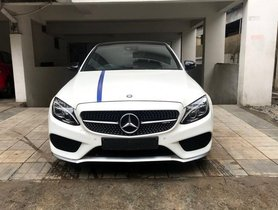 Used 2016 Mercedes Benz C Class car at low price