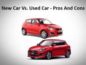 New Car Vs. Used Cars - Pros and Cons