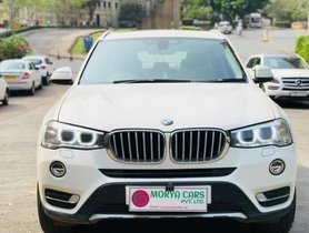 Used BMW X3 xDrive20d xLine 2015 for sale