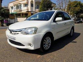 Toyota Platinum Etios 2011 for sale at low price