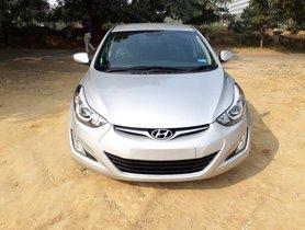 Used Hyundai Elantra car at low price