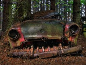 Incredible Pictures Of Cars Left In The Wild