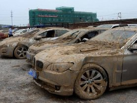 Top 5 Luxury Cars That Are Left To Rust And Ruin In China