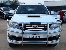 Used 2014 Toyota Fortuner car at low price