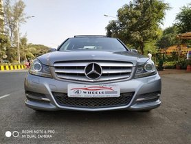Used Mercedes Benz C Class 2014 car at low price