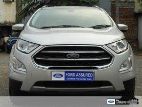 Ford EcoSport 1.5 Petrol Titanium Plus AT 2017 for sale