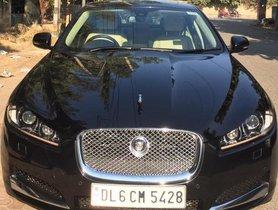 Used Jaguar XF 2013 car at low price