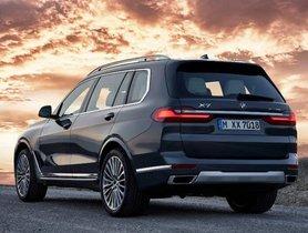 BMW X7 M50d Launch Date Announced