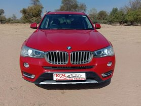 Used 2016 BMW X3 car at low price