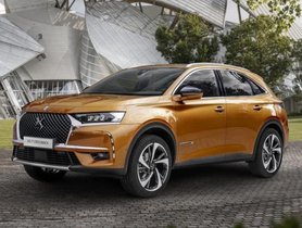DS7 SUV Spied On Testing In India