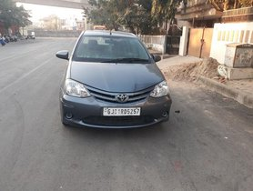 Used Toyota Platinum Etios 2014 car at low price