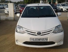 Toyota Platinum Etios GD 2012 for sale