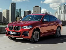 BMW X4 India Launch on February 7 2019  - Full Details
