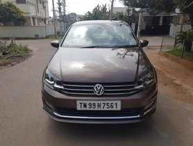 Used 2018 Volkswagen Vento car at low price