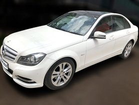 Mercedes-Benz C-Class C 220 CDI BE Avantgare 2012 for sale