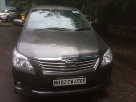 Toyota Innova 2.5 VX (Diesel) 8 Seater BS IV 2013 for sale