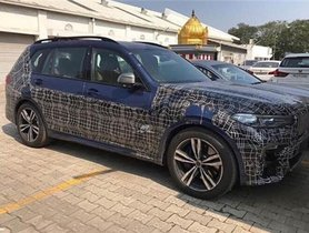 BMW X7 Spied Testing In India