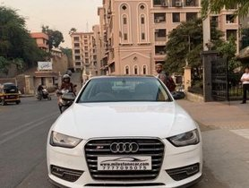 Used Audi A4 car 2013 for sale at low price