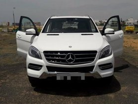 Used 2014 Mercedes Benz M Class for sale at low price