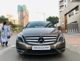 Used Mercedes Benz B Class 2013 car at low price