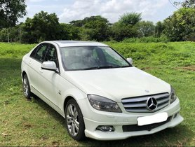 Used Mercedes Benz C Class 2009 car at low price