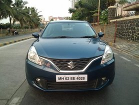 Maruti Baleno 1.2 Zeta 2016 for sale