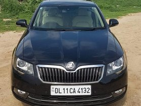 Skoda Superb Elegance 2.0 TDI CR AT 2014 for sale