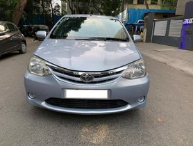 2011 Toyota Platinum Etios for sale at low price