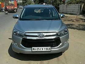 Used Toyota Innova Crysta car 2016 for sale at low price