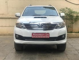 Used Toyota Fortuner car 2012 for sale at low price