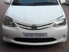 Used Toyota Platinum Etios 2012 car at low price