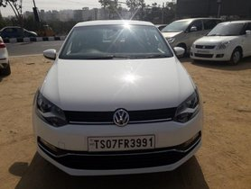 Used Volkswagen Polo car 2017 for sale at low price