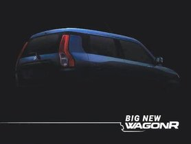 2019 Maruti Suzuki WagonR Teased Ahead Of Launch