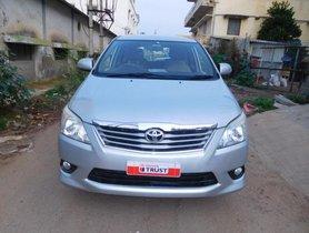 Toyota Innova 2.5 VX (Diesel) 7 Seater BS IV 2012 for sale