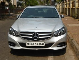 Used Mercedes Benz E Class car at low price