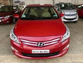Hyundai Verna 1.6 VTVT S Option 2015 for sale
