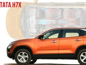 Tata H7X Harrier-based 7 Seater SUV To Launch In Late 2019