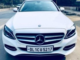 Used Mercedes Benz C Class C 200 AVANTGARDE 2016 for sale