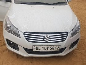Used Maruti Suzuki Ciaz 2016 car at low price
