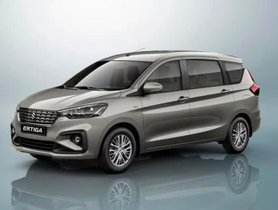 Maruti Ertiga Becomes The Best-selling MPV In India