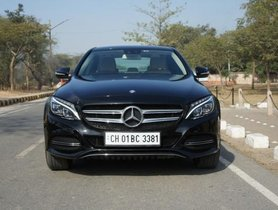Used Mercedes Benz C Class C 200 AVANTGARDE 2015 for sale
