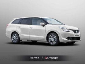 The Maruti Baleno Estate Looks Ultra Cool – Rendering